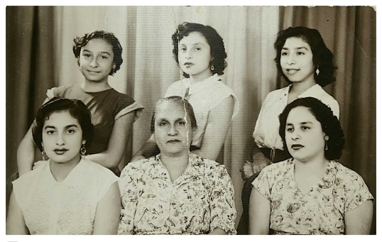 Jovita Lara Esparza e hijas